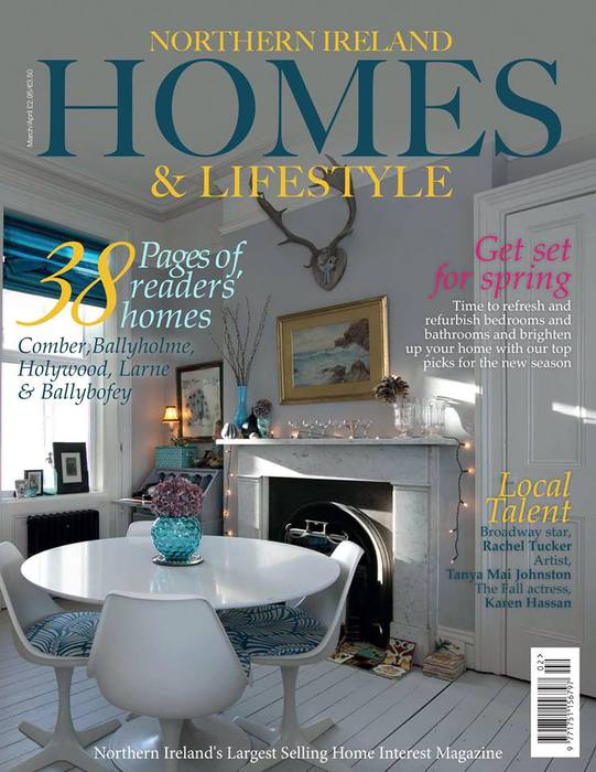 delighted to again be invited to write a feature on garden design for the latest issue of northern ireland homes and lifestyle magazine which is out now - Garden Design Northern Ireland